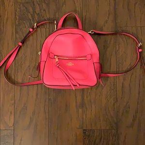 COACH Backpack Crossbody Purse NEW